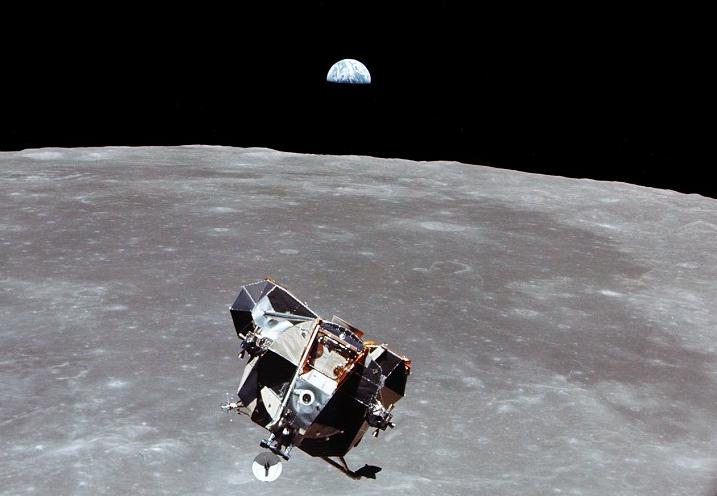 Wieso haben sich Mondlandefähre und Mutterschiff nicht verpasst?